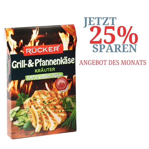 RÜCKER Grill- und Pfannenkäse Kräuter
