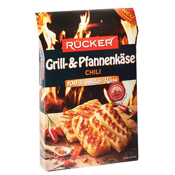 RÜCKER Grill- und Pfannenkäse Chili